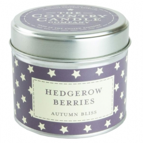 Hedgerow Harvest - Autumn Bliss Candle In A Tin